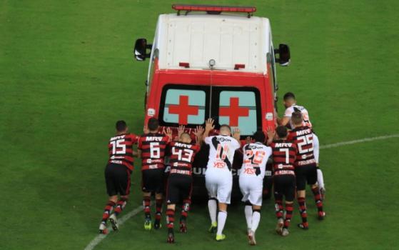 Pega no tranco, Brasil!