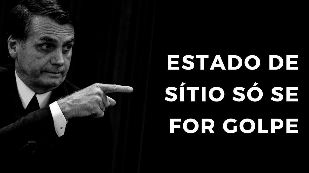 Estado de Sítio é absurdo!