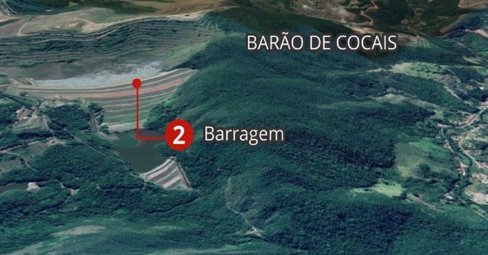 🆘Compartilhe urgente: barragem de BARÃO DOS COCAIS em ALERTA MÁXIMO!