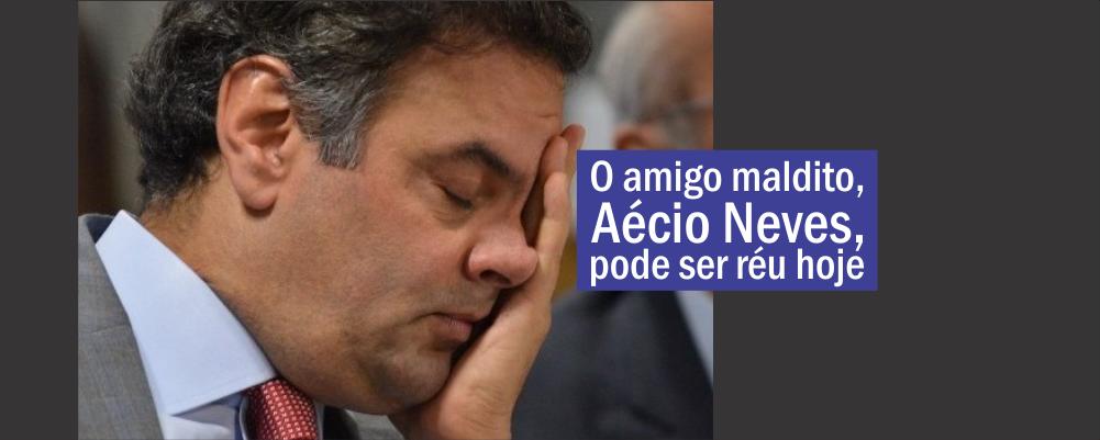 Aécio Neves vira réu?