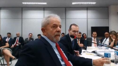 Depoimento de Lula pela primeira vez diante a juíza substituta de Sergio Moro
