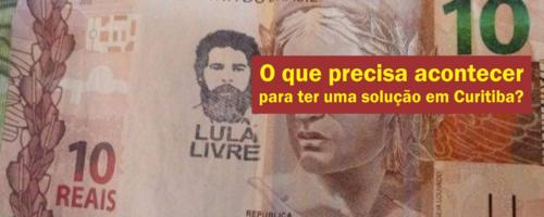 O que precisa acontecer para ter uma solução em Curitiba?